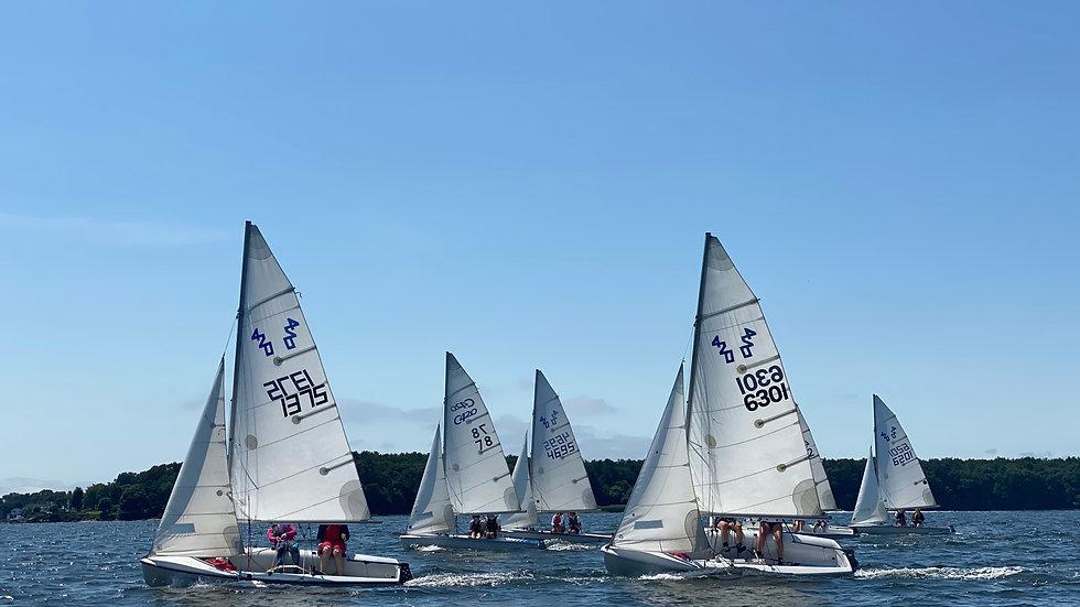 Fall Sailing: 420s