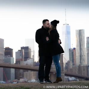 Engagement Photos Dumbo Brooklyn New York