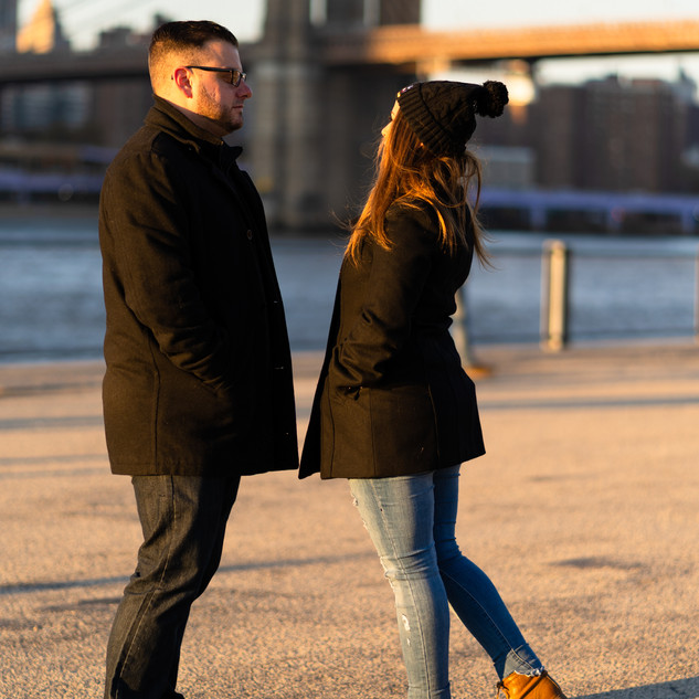 Engagement Photos Dumbo Brooklyn New York