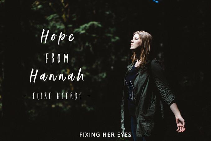 Hope from Hannah
