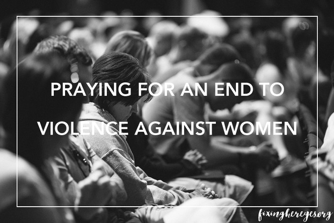 Praying for an End to Violence Against Women - White Ribbon Day and Related Occasions