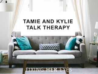 Tamie and Kylie talk therapy