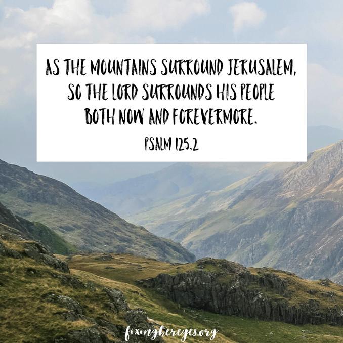 Daily Reflection: Psalm 125.2