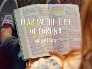 Fear in the time of Corona