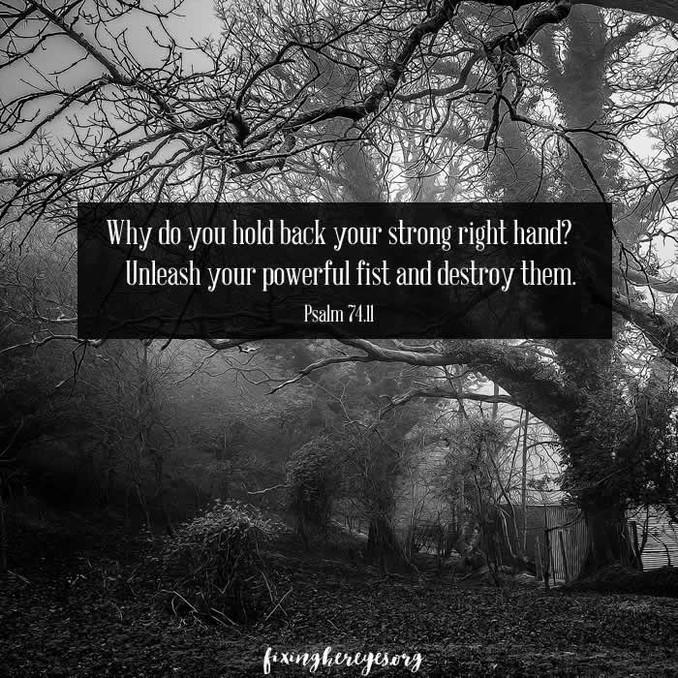 Daily Reflection: Psalm 74.11