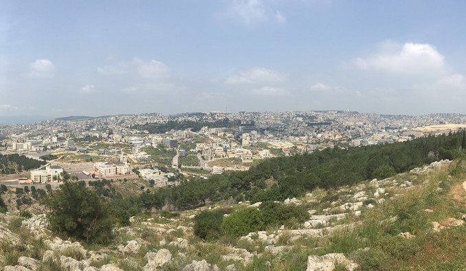 Walking in Jesus' footsteps - Nazareth