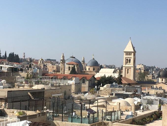 Walking in Jesus' footsteps - Jerusalem