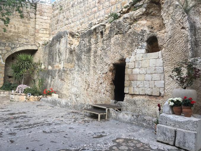Walking in Jesus' footsteps - Garden Tomb