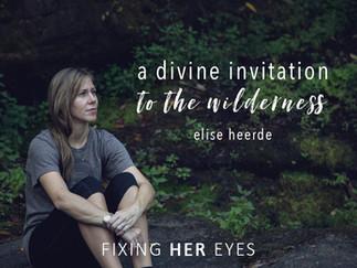 A divine invitation to the wilderness