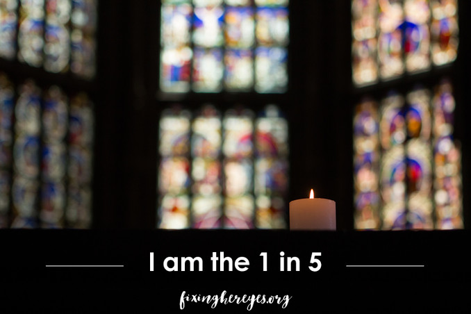I am the 1 in 5