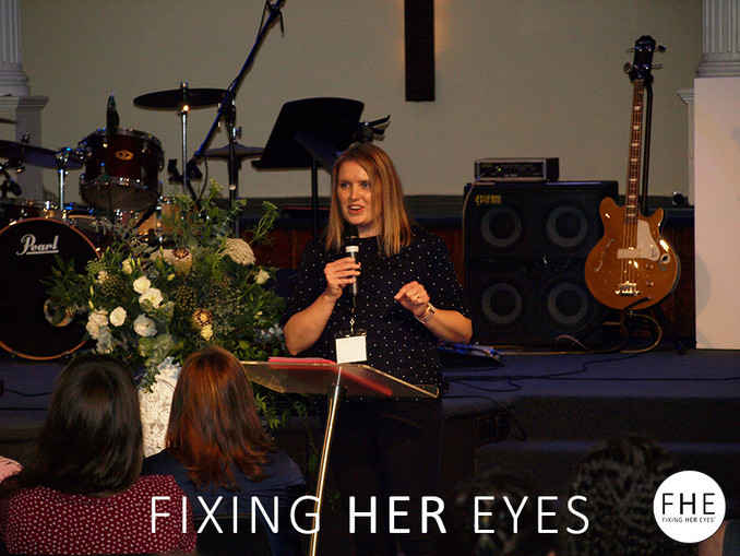 Fixing Her Eyes - the Conference