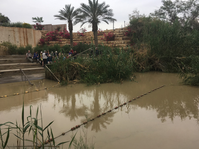 Walking in Jesus' footsteps - Jordan River