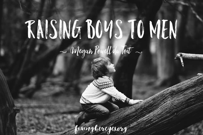 Raising Boys II Men