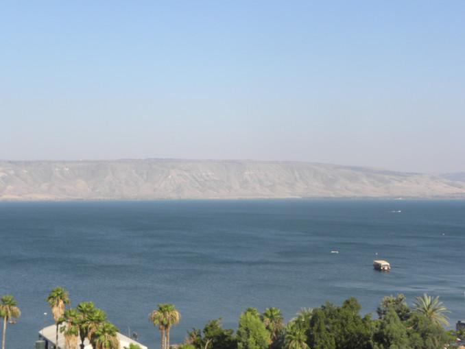 Walking in Jesus' footsteps - Sea of Galilee