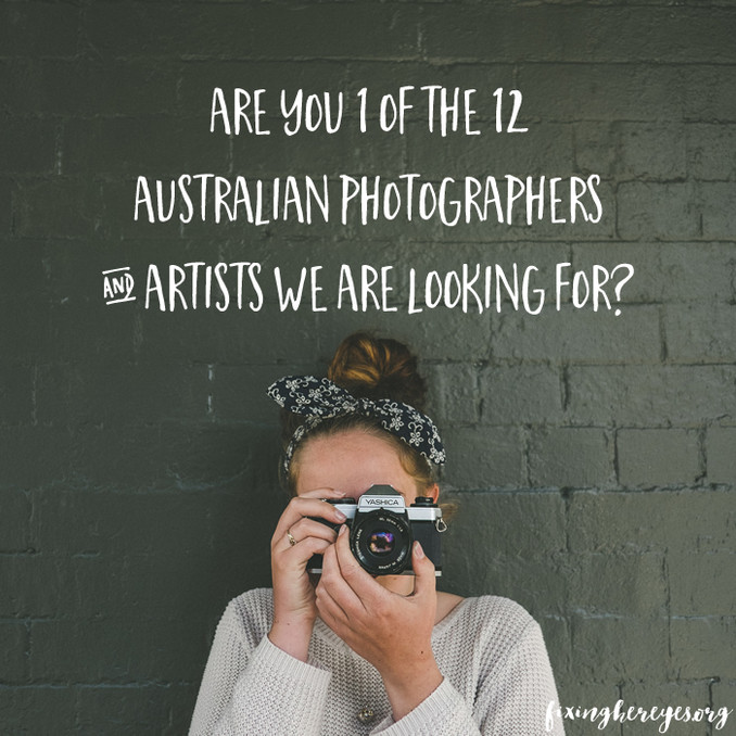 Calling all Australian Creatives!