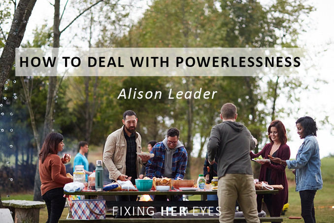 How to deal with powerlessness