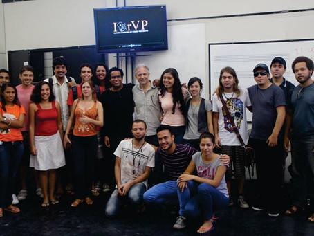 Encontro realizado na Universidade Federal de Pernambuco com Leo Aguiar
