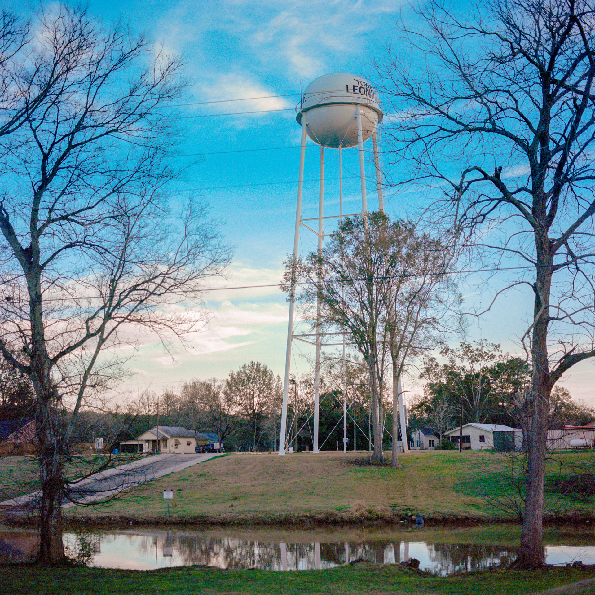 Leonville Water Tower