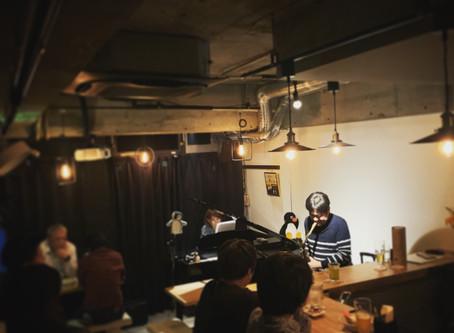 昨夜のジャズライブ