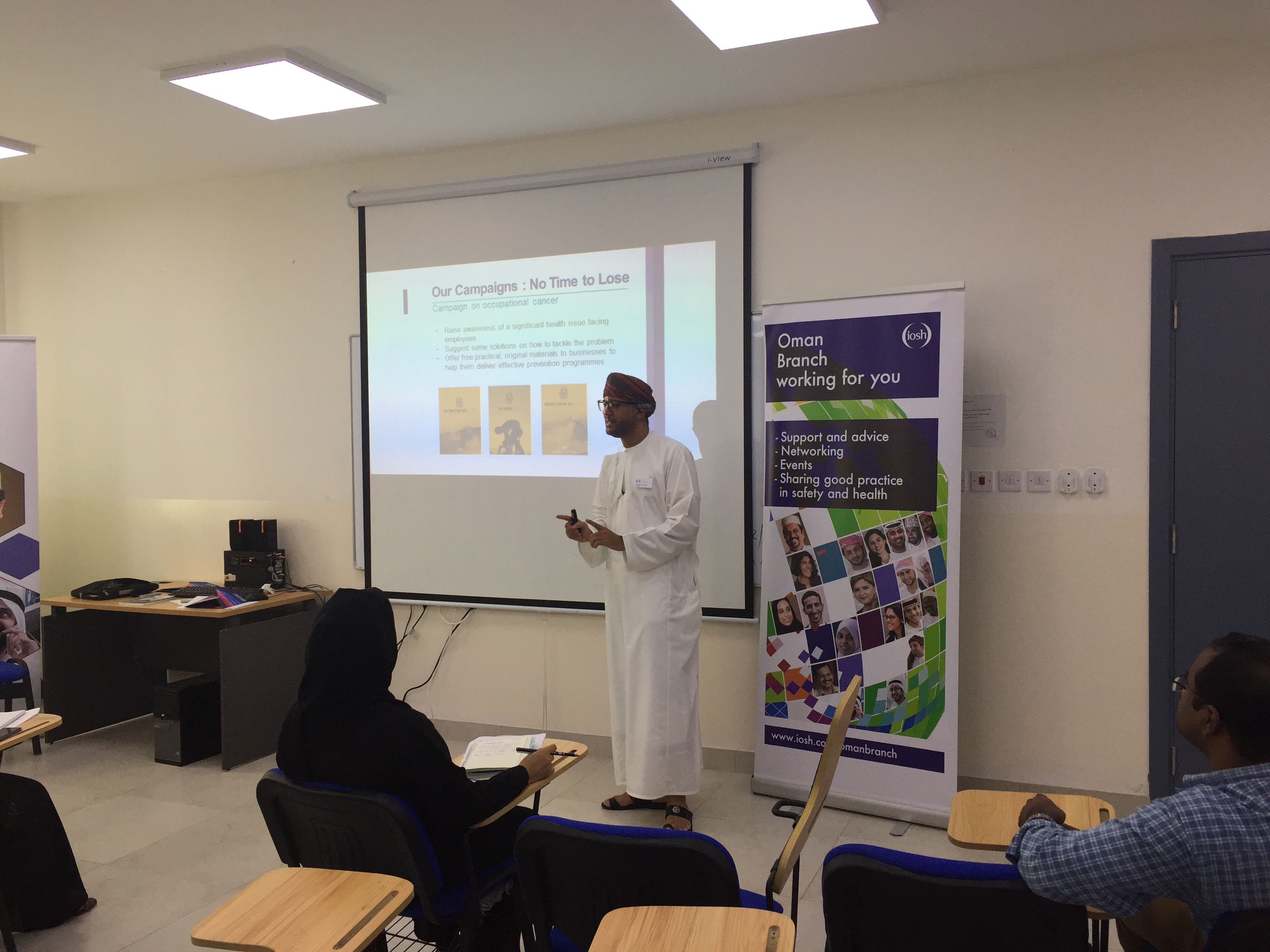 IOSH Oman Workshops at ICEM