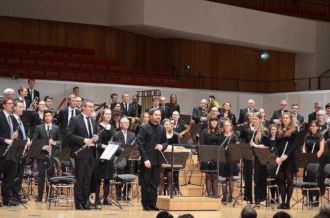 Me and the Dresdner Bläserphilharmonie