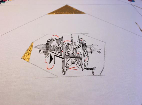 Oktágon (detail)