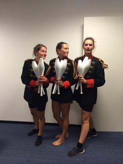 Jonglage-Trio