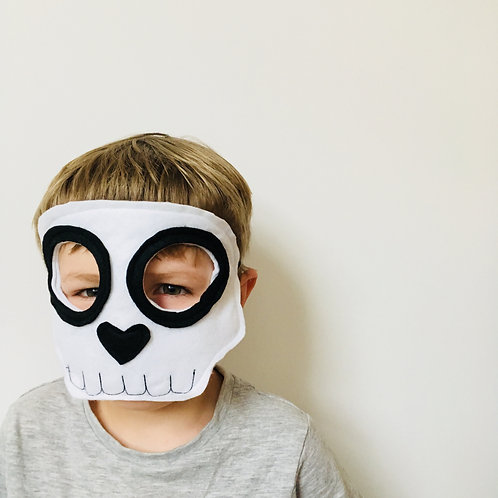 Any Size Skeleton Mask,  Halloween Skull Mask, Mexican Sugar Skull Mask