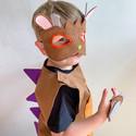 7 Brown Monster Costume Model  4.JPG