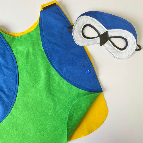 Any Size Blue Tit Costume, Garden Bird Outfit, Great Tit Costume