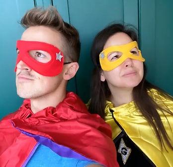 Tom and Giovanna Fletcher in Robin's Bob