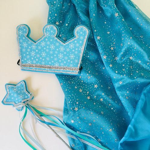 Ice Queen Costume, Snowflake Costume, Snow Queen Costume