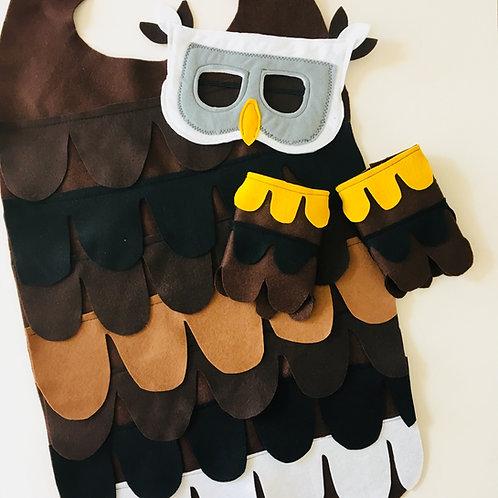 Golden Eagle Costume,  Bald Eagle Outfit, Hawk Costume