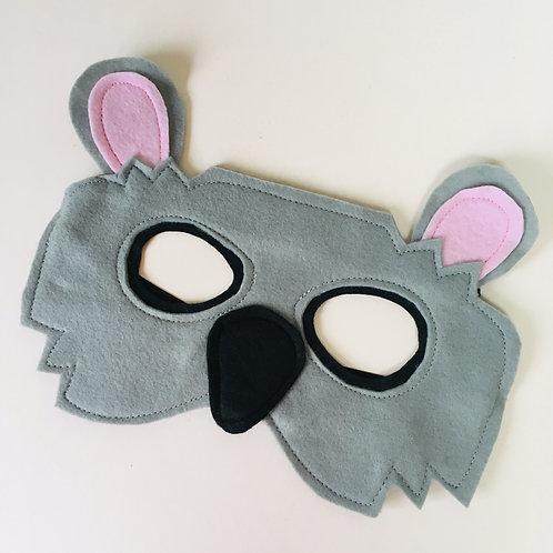 Any Size Koala Costume, Koala Mask and Paws