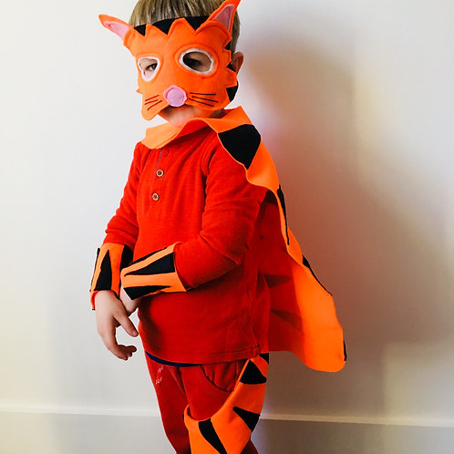 Any Size Tiger Costume, World Book Day Tiger / Halloween Tiger Outfit
