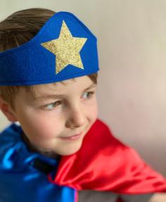 Felt Superhero Crown