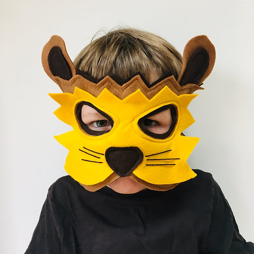 Any Size Lion Costume, Lion Mask and Paws