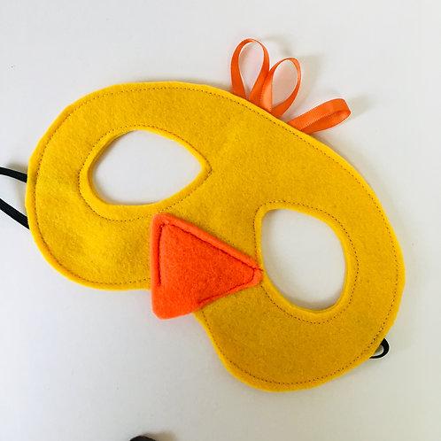 Any Size Duck Mask, Old MacDonald Farm Duck Mask, Storytelling Farm Animal Mask
