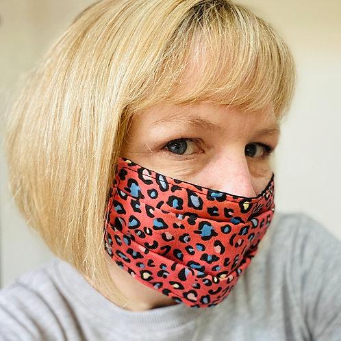 MADE TO ORDER Kids / Adult Adjustable Face Mask, Reusable / Washable Face Mask