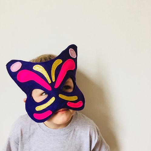 Any Size Butterfly Mask,  Butterfly Carnival Mask