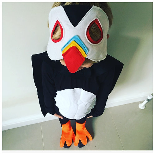Any Size Puffin Costume, World Book Day / Halloween Puffin