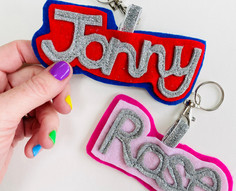 Personalised Name Key Ring / Bag Tag