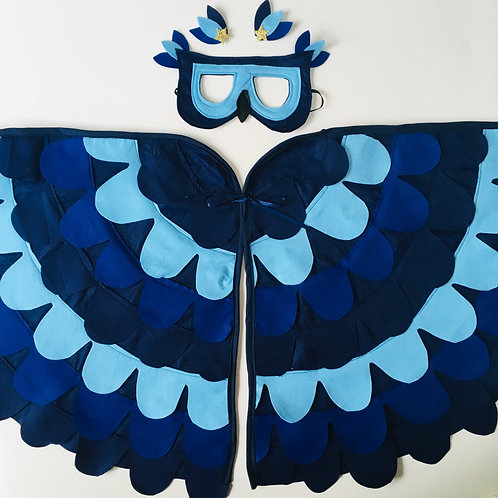 Blue Bird Wings, Blue Tit Bird Costume, Blue Jay Wings, Blue Bird Dress Up