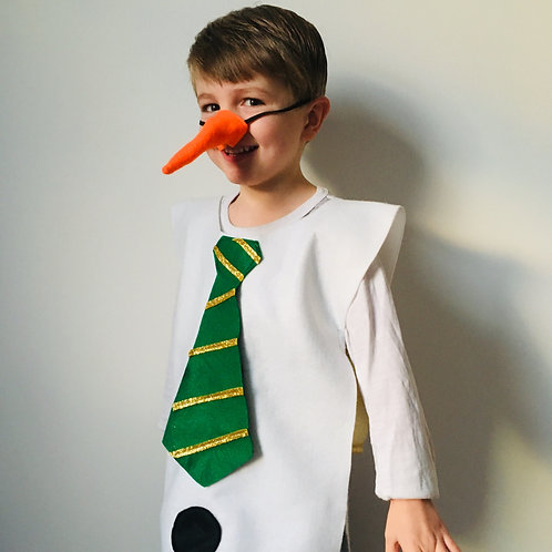 Frosty the Snowman Costume, Christmas Snowman Costume, Snowman Outfit