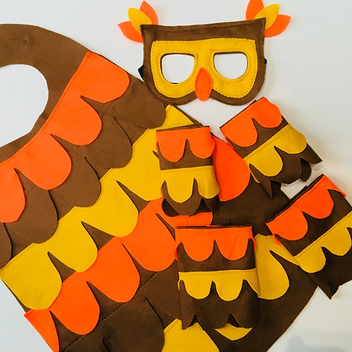 Any Bird Cape Costume, Felt Bird Cape, Choose Any Bird! Kids and Adult Sizes