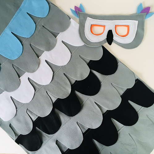 Pigeon Costume, Wood Pigeon Outfit, Halloween Pigeon.