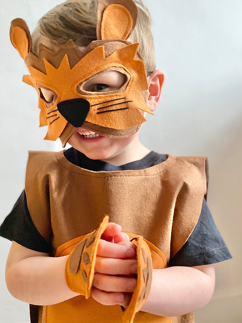 Any Size Lion Costume, Halloween Lion Outfit