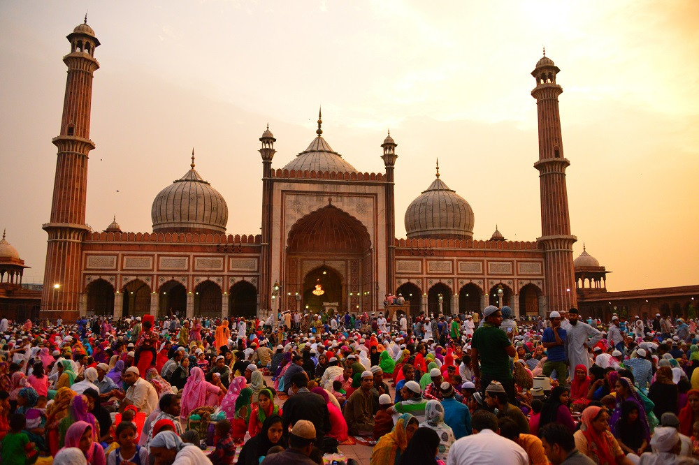 Jama Masjid Delhi.