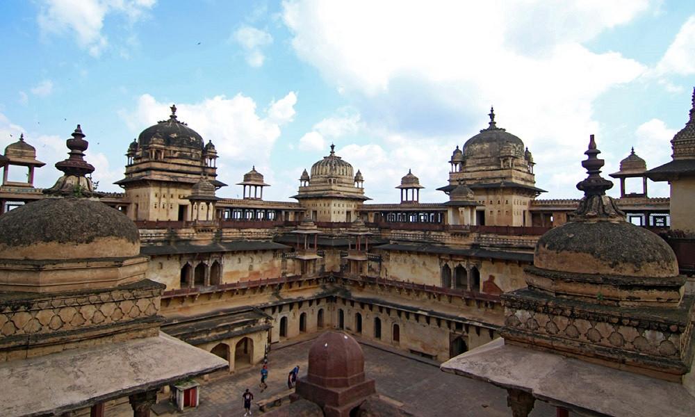 Jahangir Mahal Orchha Amar Mahal