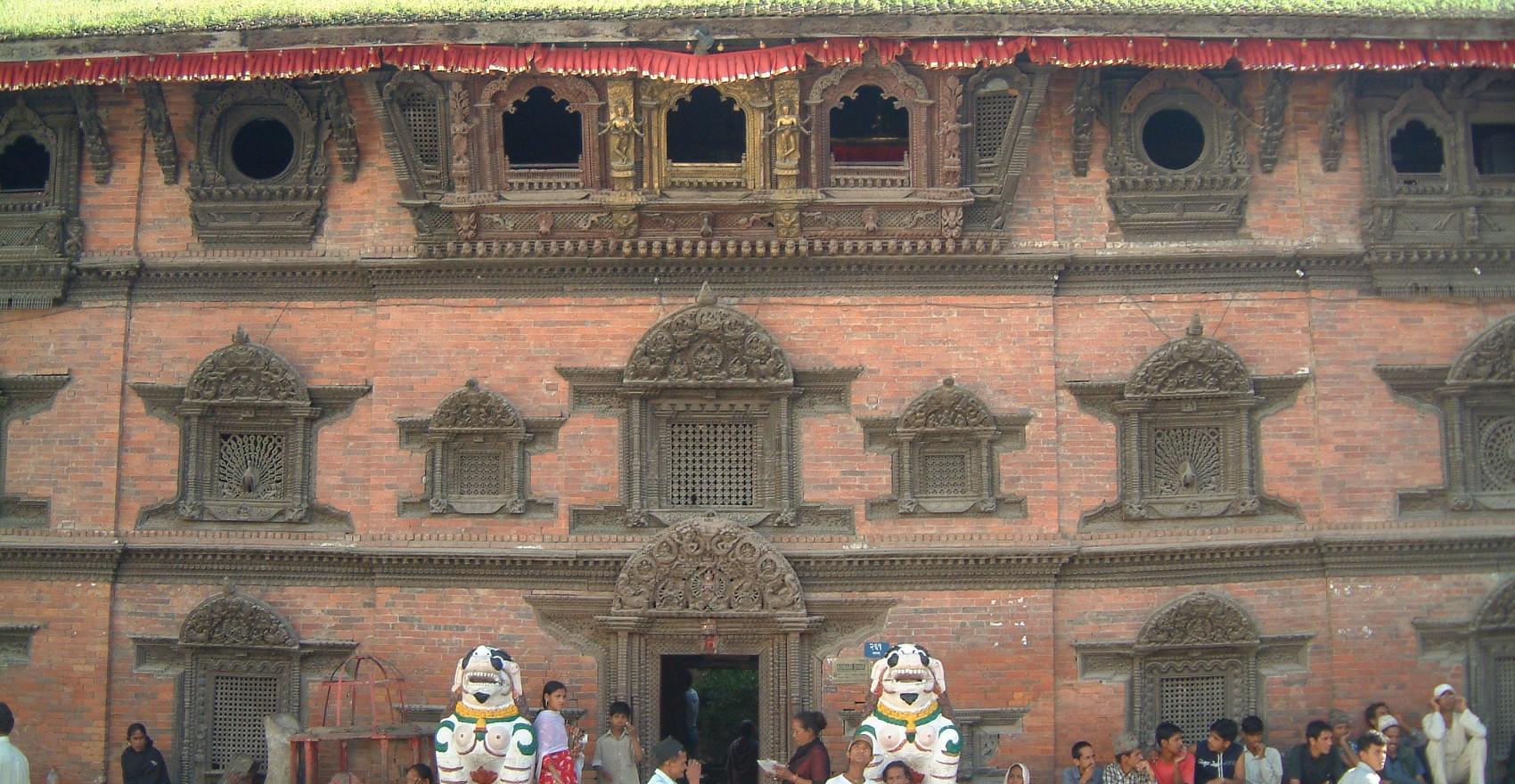 Kumari House in Kathmandu Durbar Square